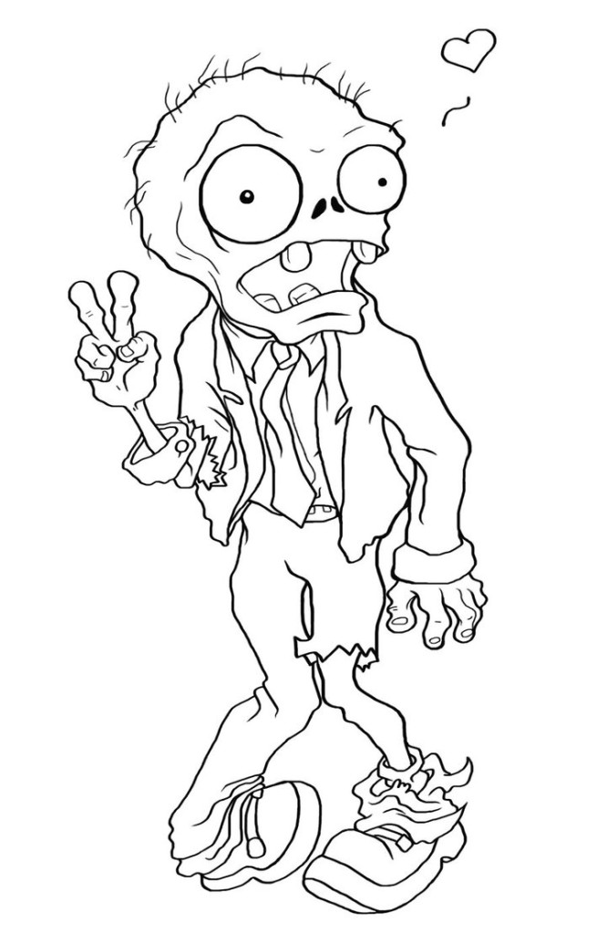 coloring page zombie 12 pics of cute zombie coloring pages cute halloween coloring page zombie