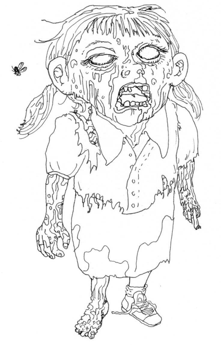 coloring page zombie zombie coloring pages for children coloring home coloring page zombie