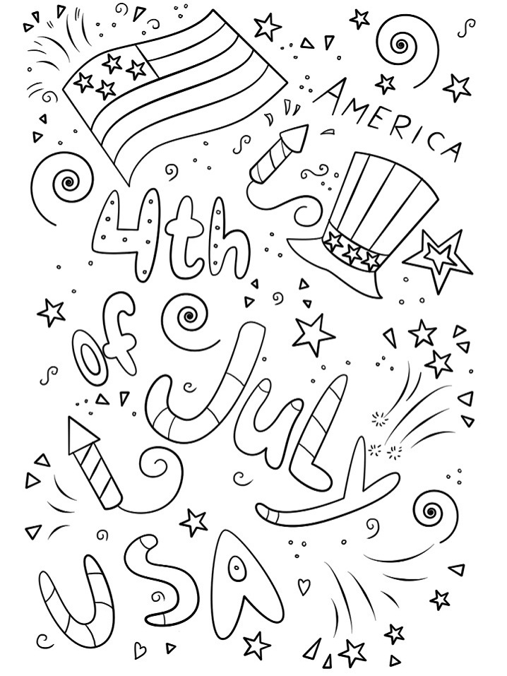 coloring pages 4th of july 4th of july coloring pages rock your homeschool pages of coloring july 4th