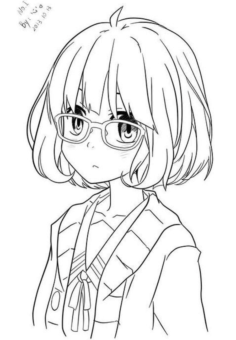 coloring pages anime adorable chibi anime coloring page coloring sky coloring anime pages