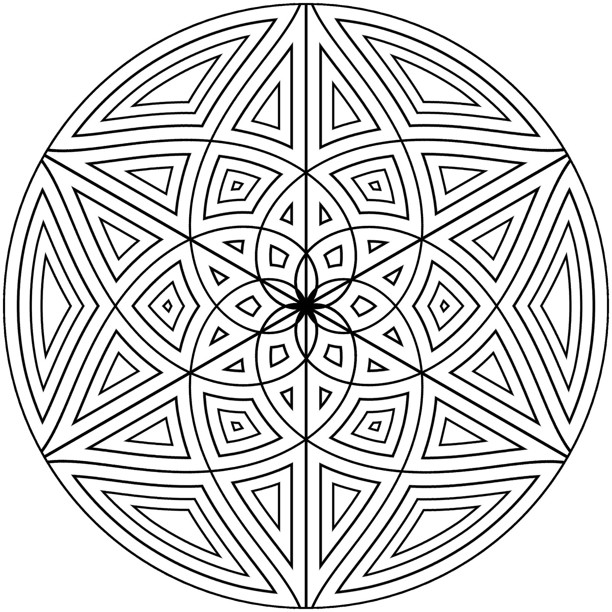 coloring pages cool designs free printable geometric coloring pages for adults designs pages cool coloring