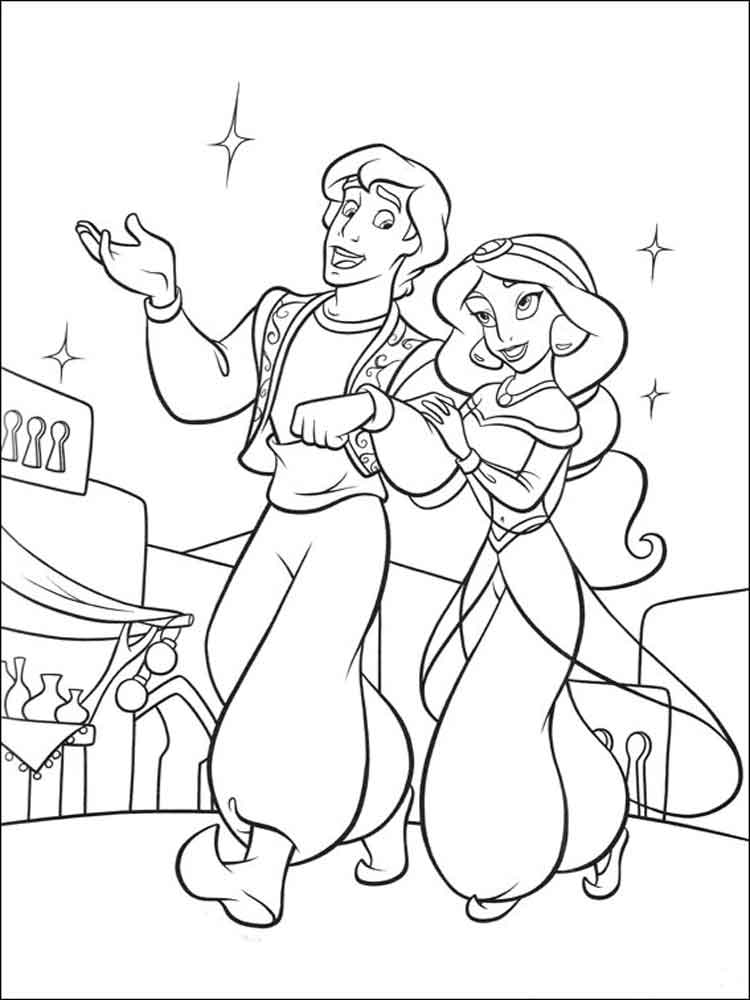 coloring pages disney aladdin aladdin coloring pages pages coloring aladdin disney