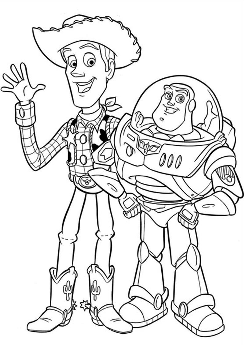 coloring pages disney toy story toy story coloring pages disneyclipscom pages coloring disney story toy
