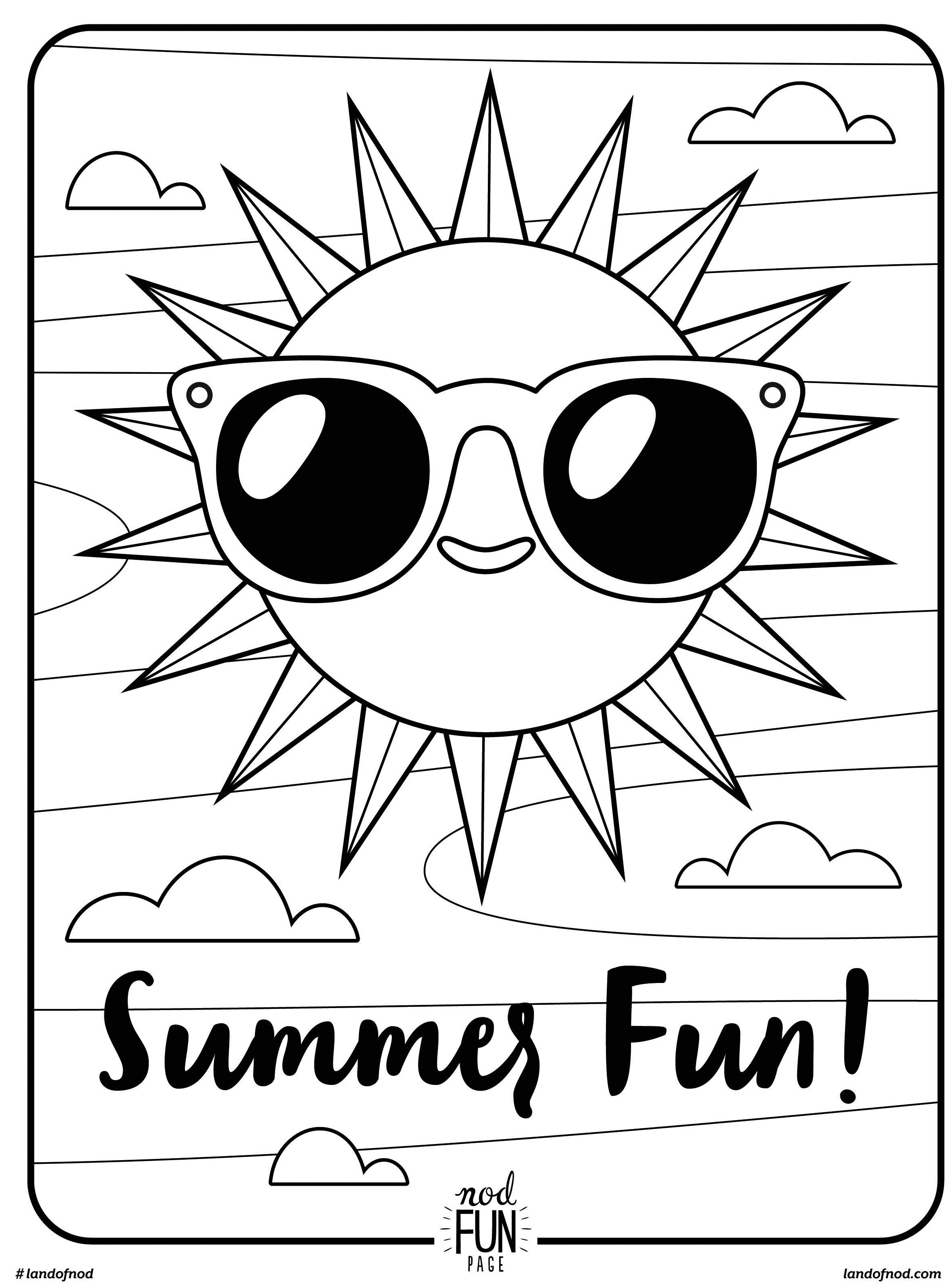 coloring pages for summer download free printable summer coloring pages for kids pages coloring for summer