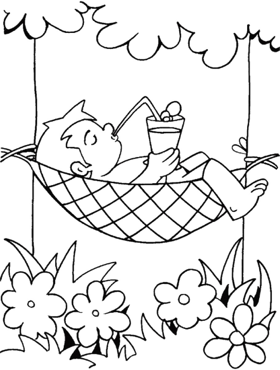 coloring pages for summer free preschool summer coloring pages coloring home for coloring pages summer