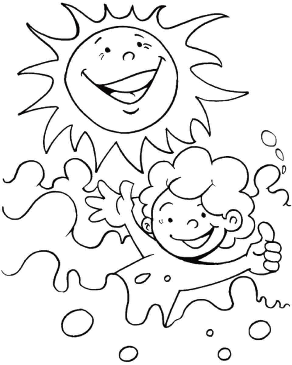 coloring pages for summer summer coloring pages to download and print for free for pages summer coloring