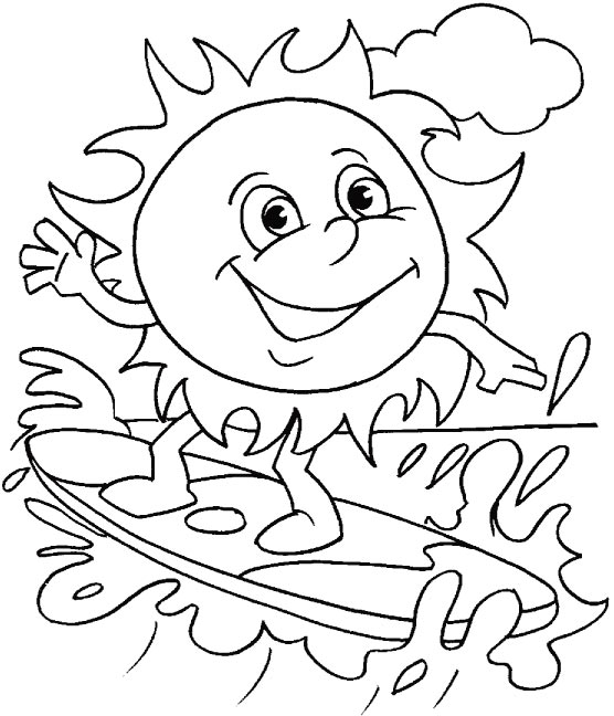 coloring pages for summer summer holiday coloring pages for coloring summer pages
