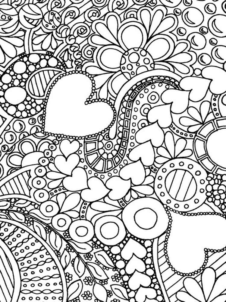 coloring pages hard difficult coloring pages for adults free printable pages hard coloring
