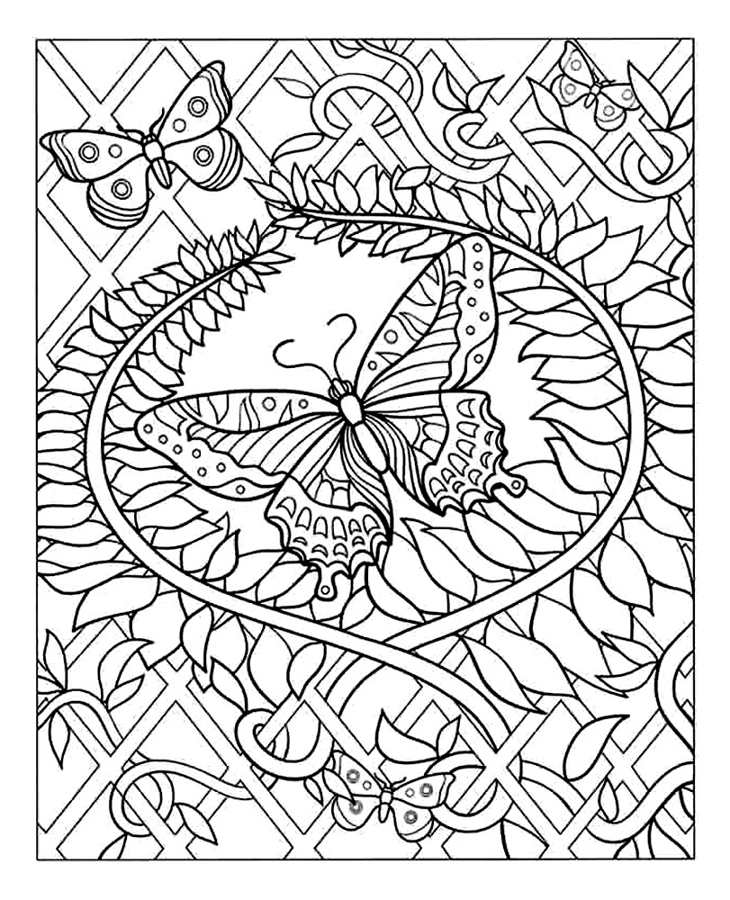 coloring pages hard free difficult coloring pages for adults hard coloring pages