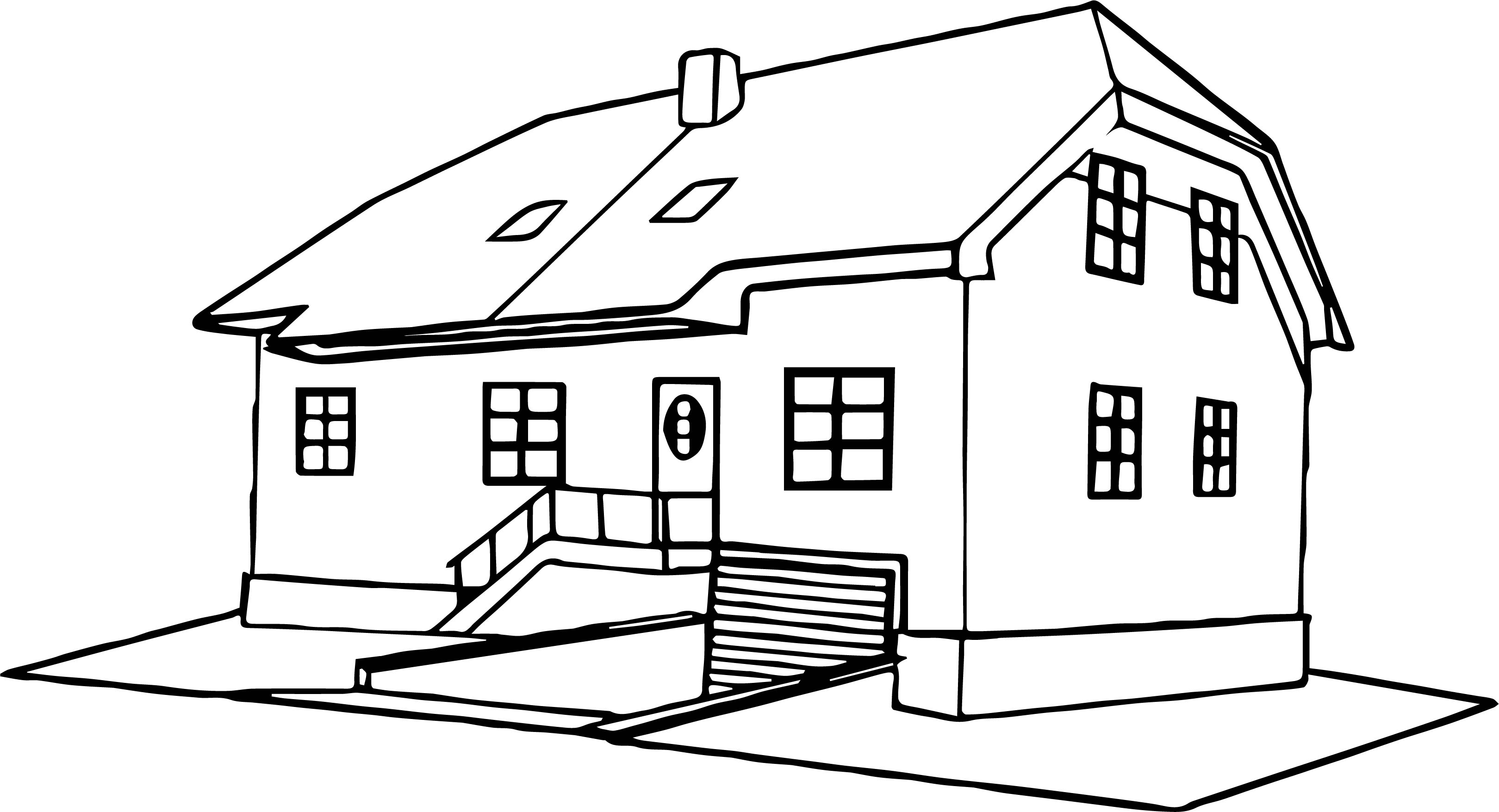 coloring pages houses house coloring page 32 wecoloringpagecom coloring houses pages