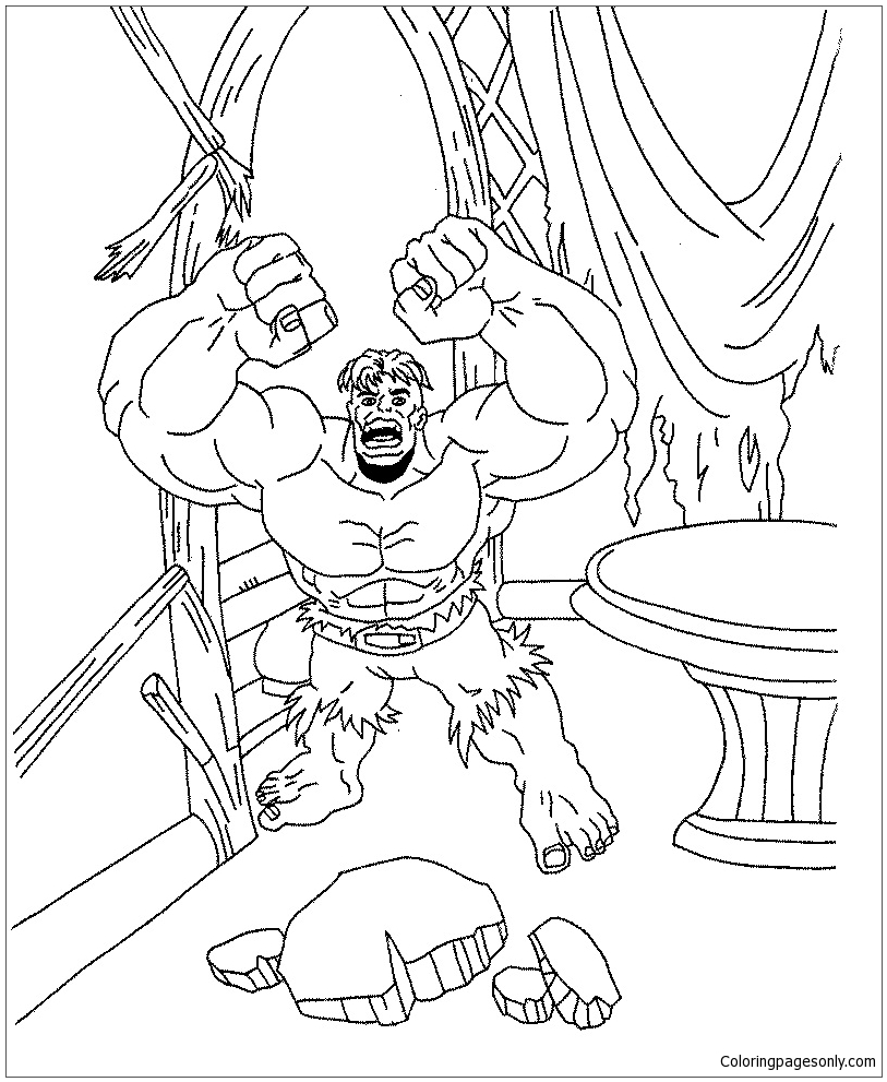 coloring pages incredible hulk free printable hulk coloring pages for kids cool2bkids coloring incredible pages hulk