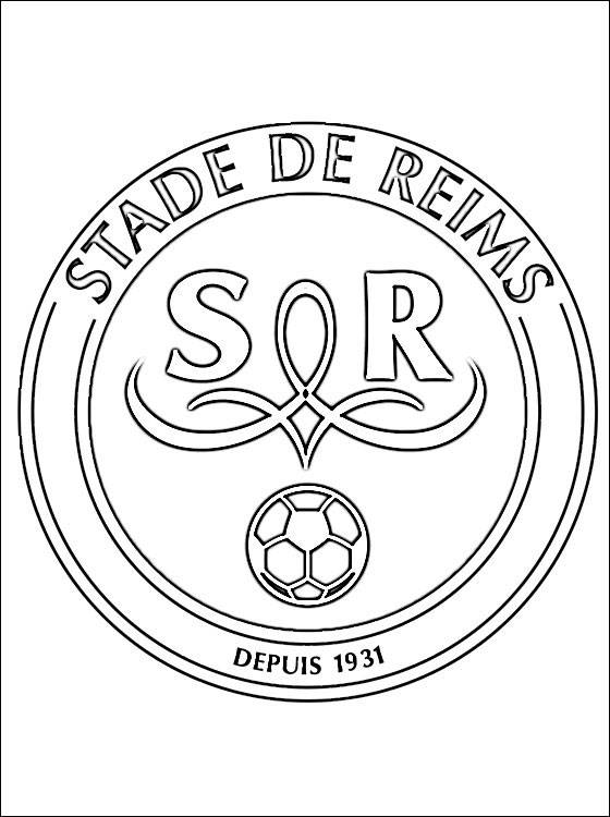 coloring pages of football teams printable stade de reims football team free sheets football of coloring teams pages