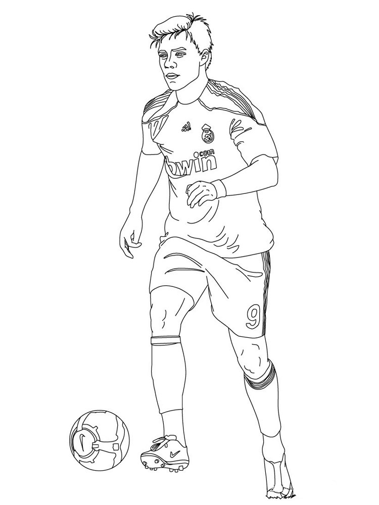 coloring pages of football teams soccer player coloring pages free printable soccer player coloring football of teams pages