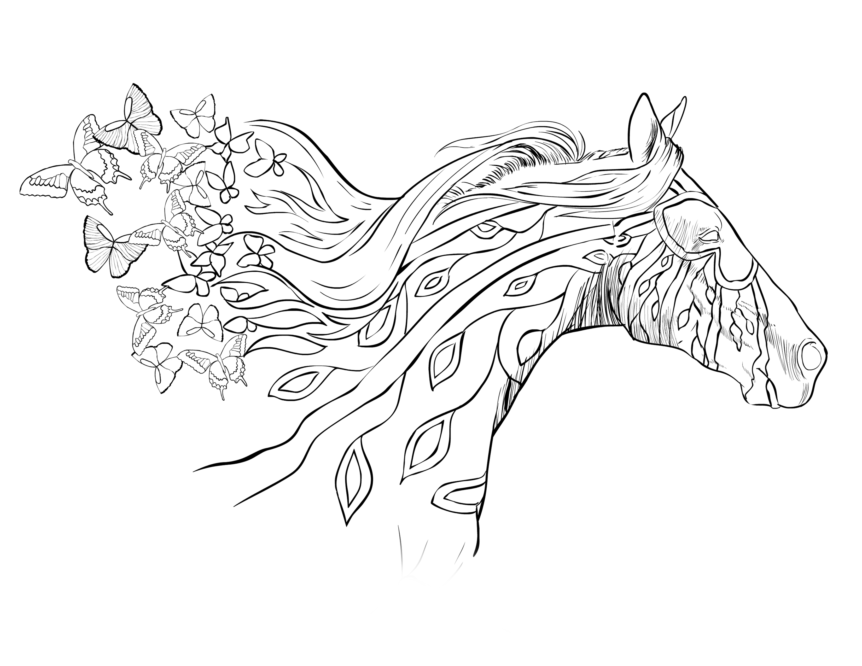 coloring pages of horses to print fun horse coloring pages for your kids printable of pages to print coloring horses
