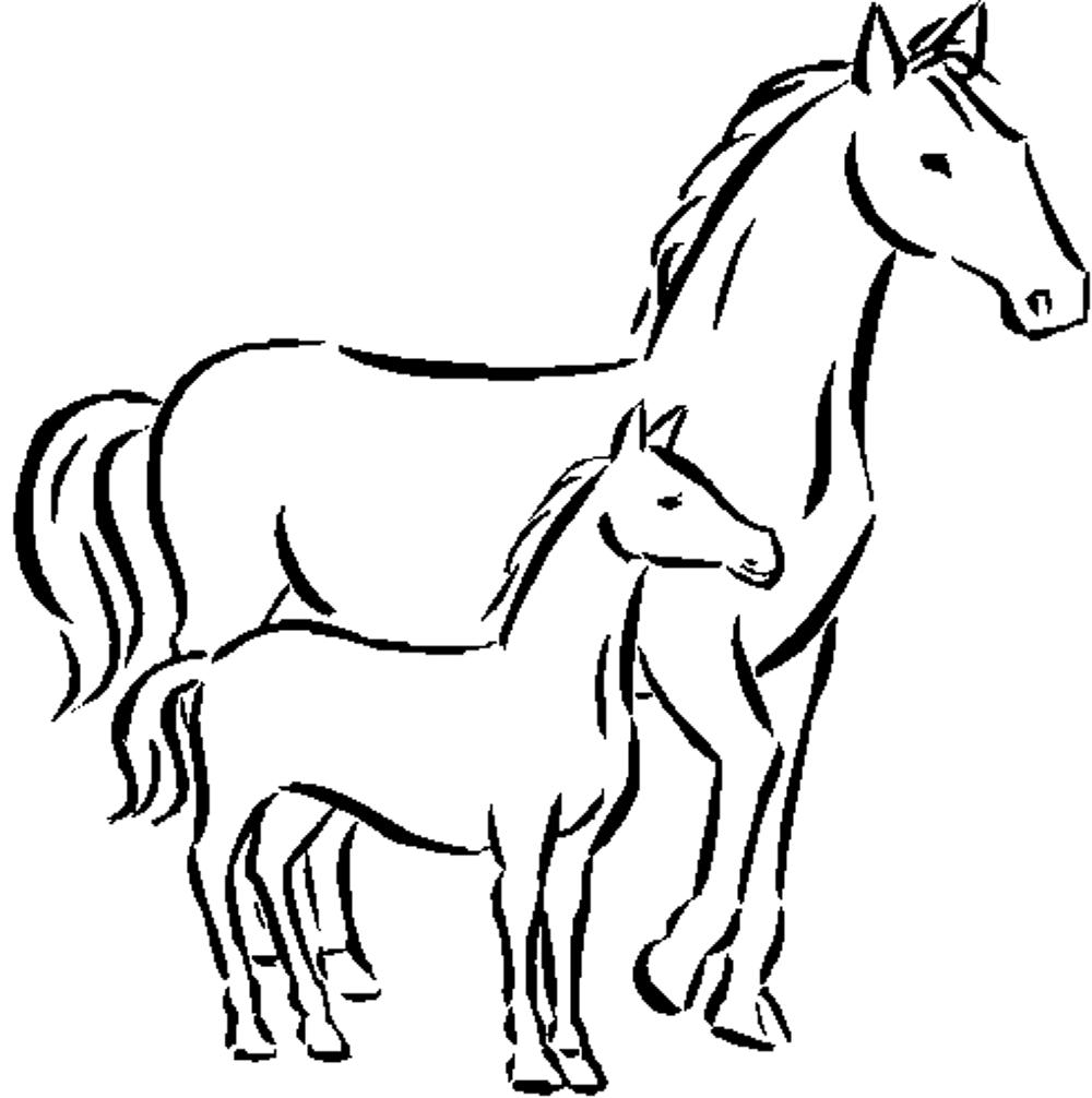 coloring pages of horses to print fun horse coloring pages for your kids printable print of coloring pages horses to