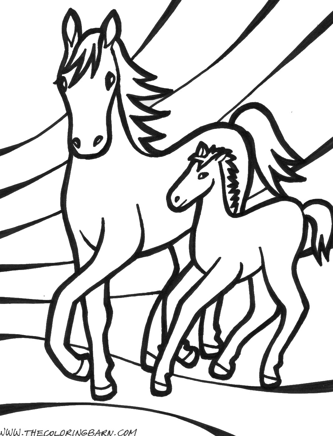 coloring pages of horses to print horse coloring pages birthday printable to print of horses pages coloring