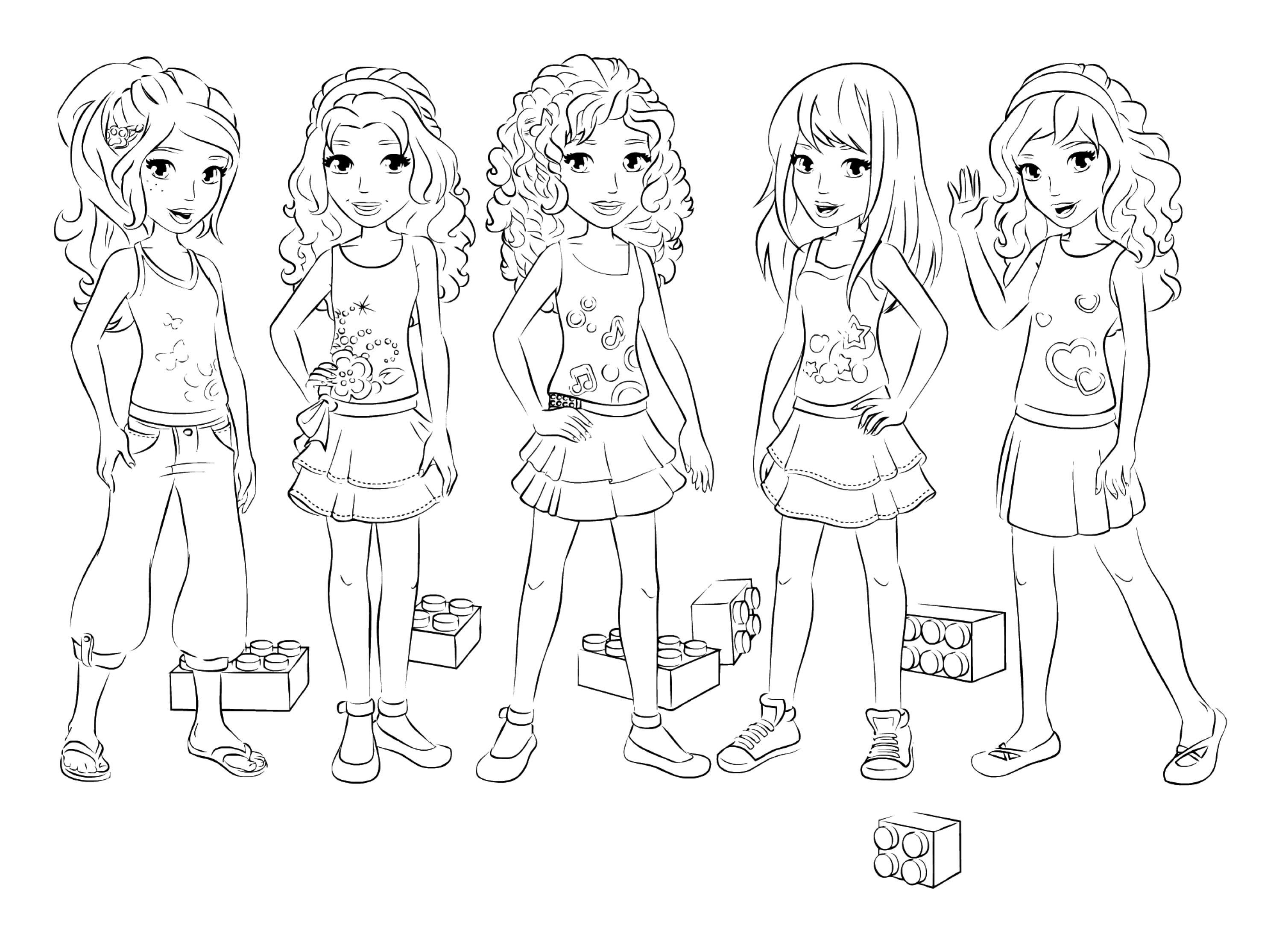 coloring pages of lego friends lego friends birthday party lego friends coloring lego of lego pages coloring friends