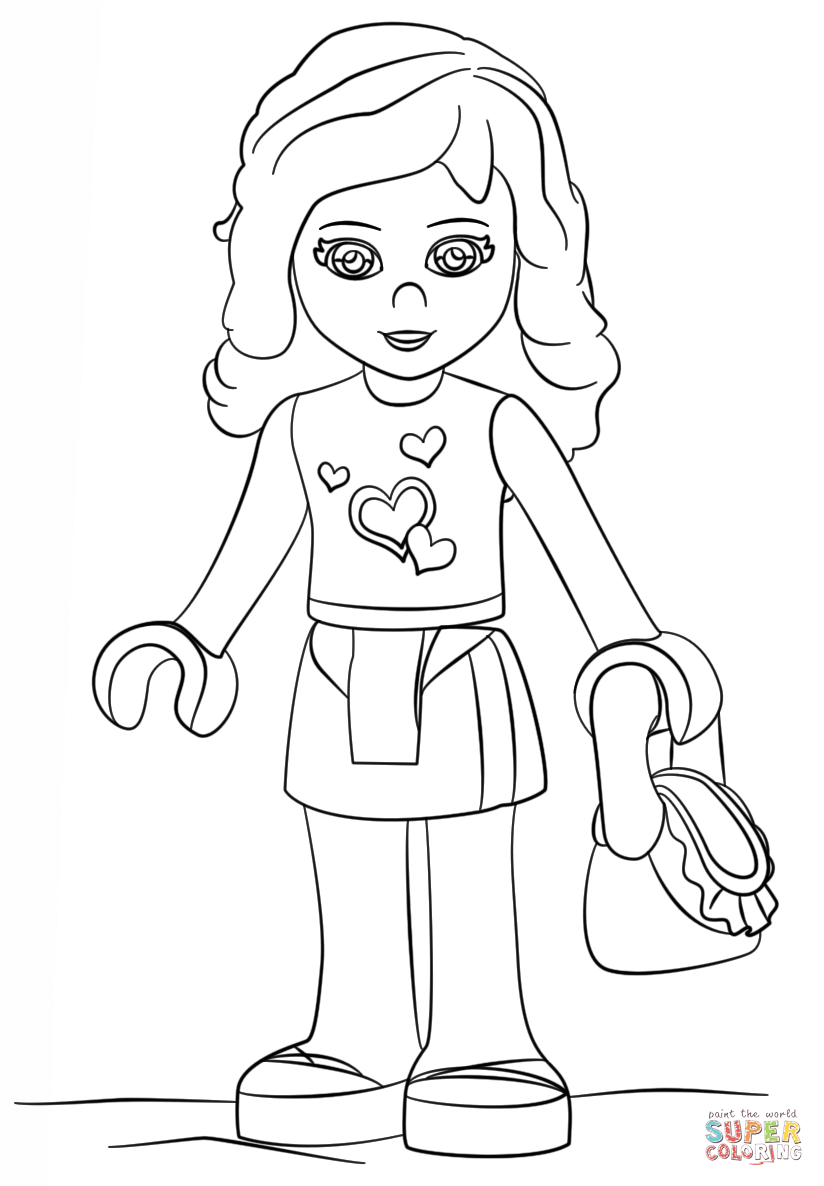 coloring pages of lego friends lego friends coloring pages coloring home coloring pages lego of friends