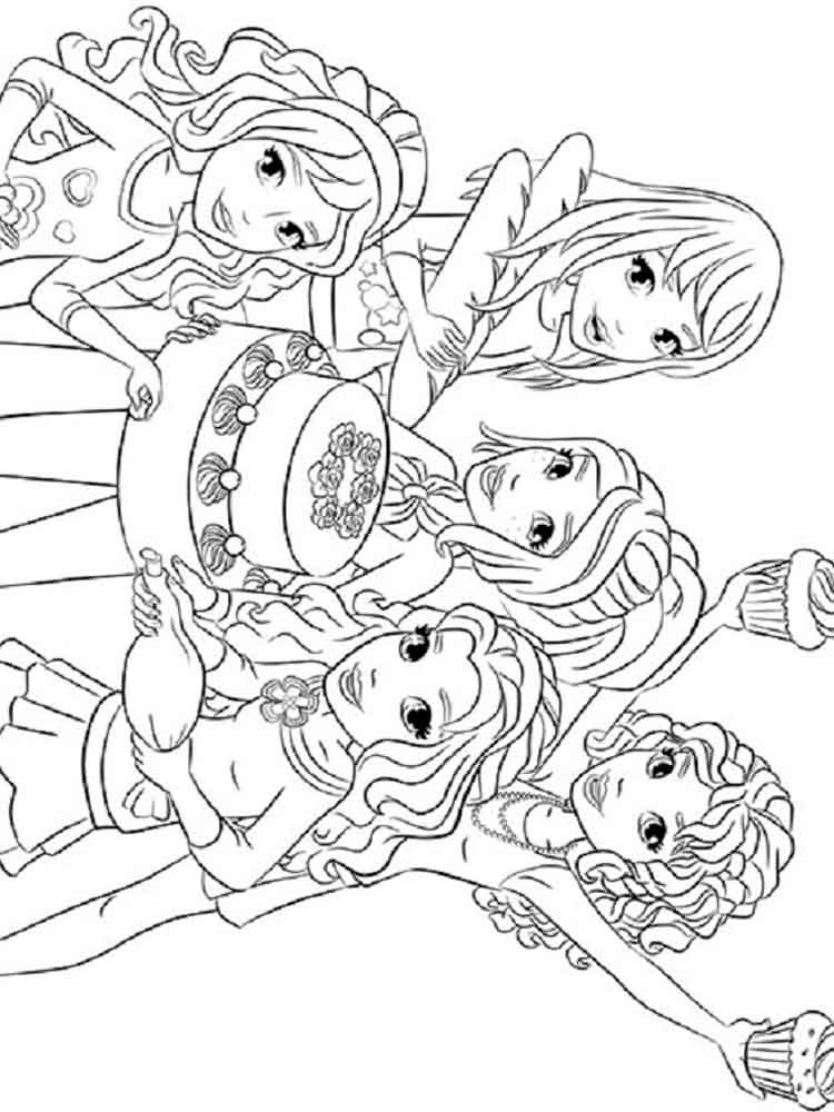 coloring pages of lego friends lego friends coloring pages free printable lego friends of lego friends pages coloring