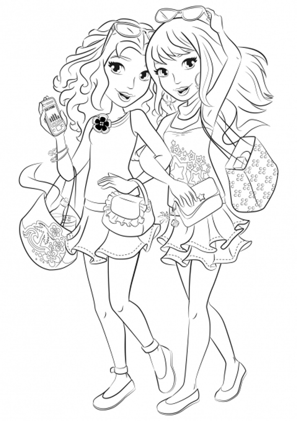 coloring pages of lego friends lego friends coloring pages to download and print for free coloring of pages friends lego