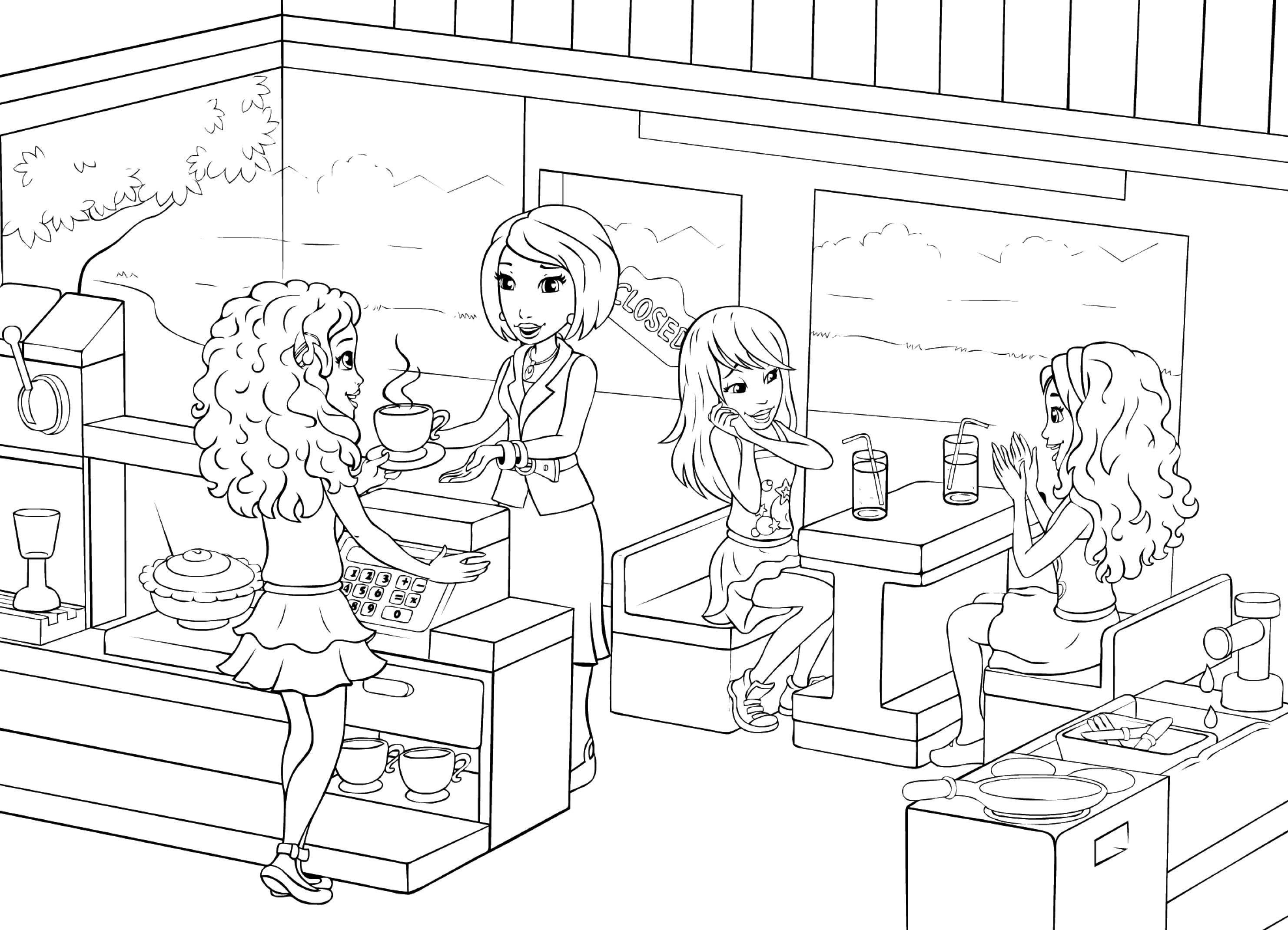 coloring pages of lego friends lego friends coloring pages to download and print for free of coloring lego pages friends