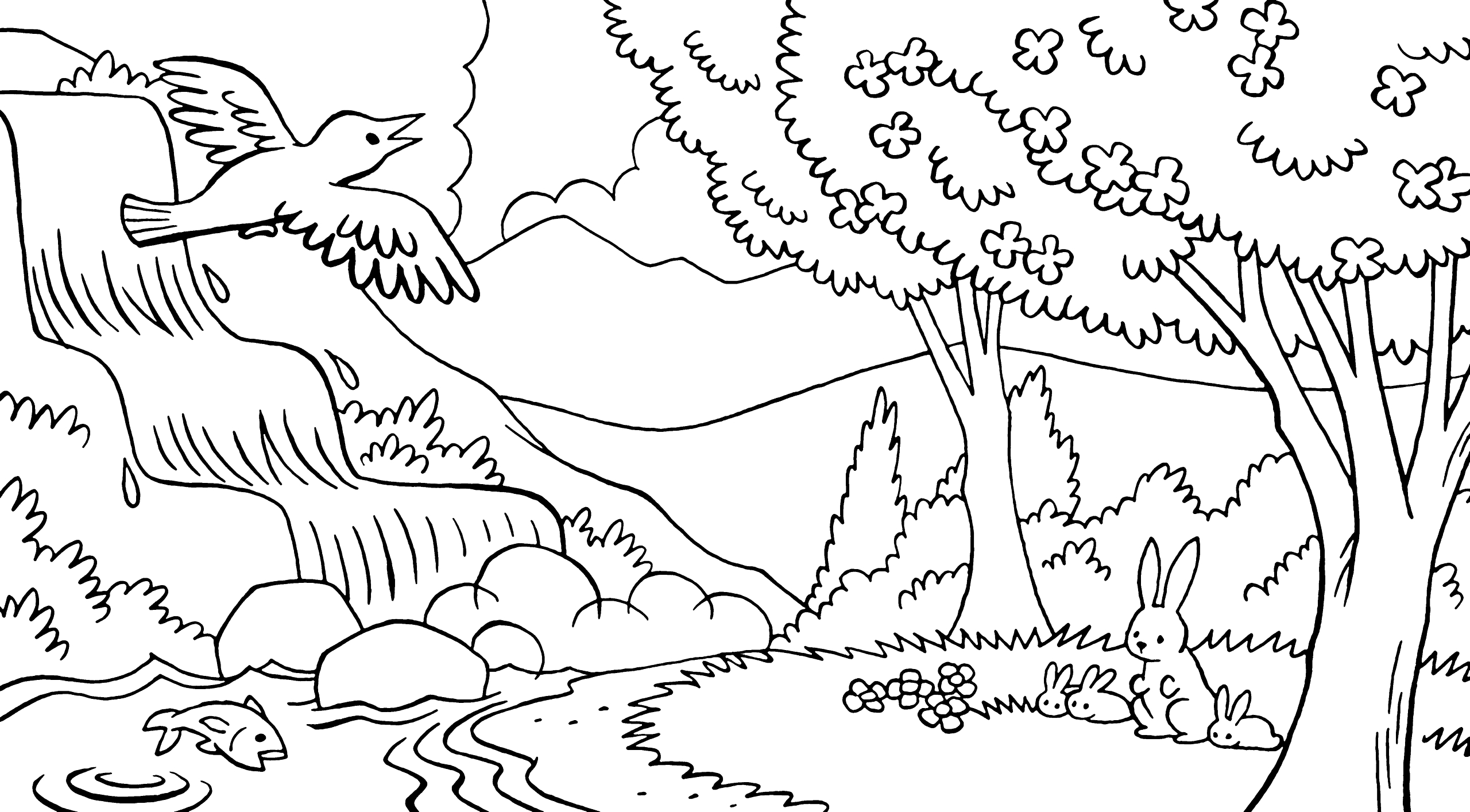 coloring pages of nature and animals marvelous adult coloring pages printables farm with farm nature of animals pages coloring and