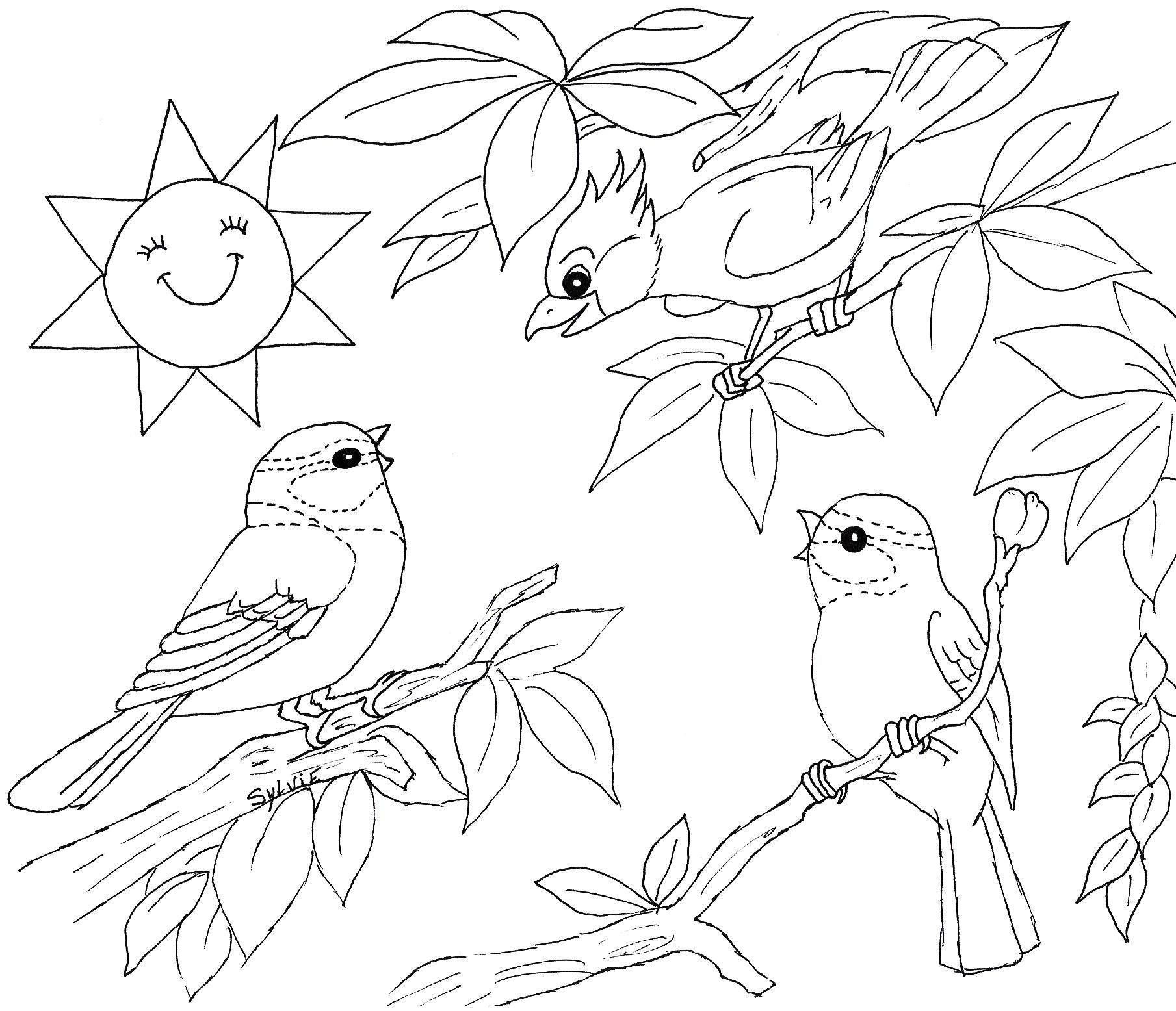 coloring pages of nature and animals smiling wetland animals coloring page of nature pages coloring and animals