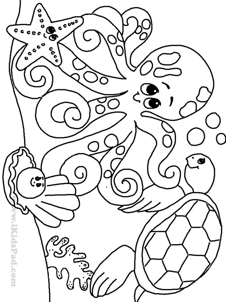 coloring pages of sea life marine life coloring pages to download and print for free of coloring sea pages life