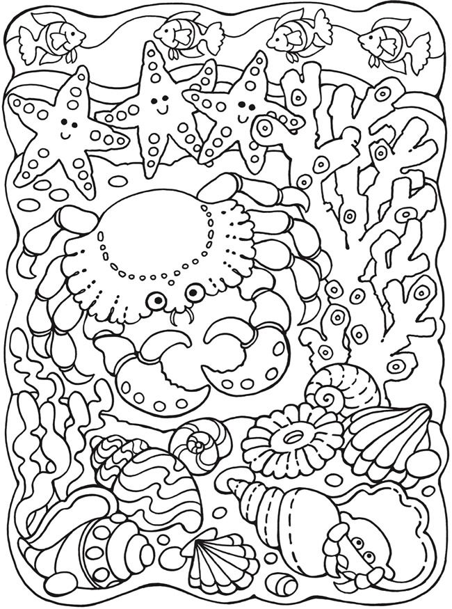 coloring pages of sea life under the sea coloring pages to download and print for free coloring of life sea pages
