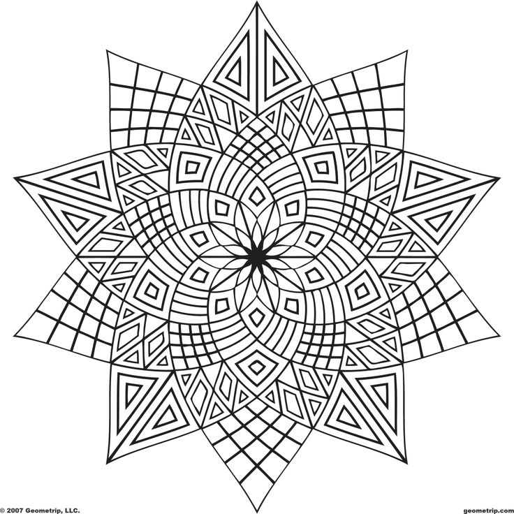 coloring pages of shapes 6 best images of geometric printable coloring pages coloring of pages shapes