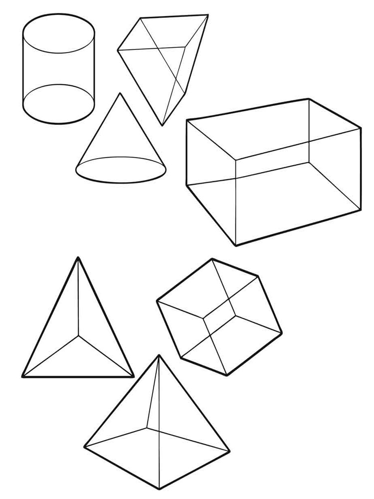 coloring pages of shapes free printable shapes coloring pages for kids coloring shapes pages of