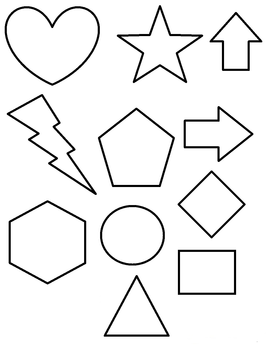 coloring pages of shapes geometric shapes cartoon coloring page coloring pages shapes of