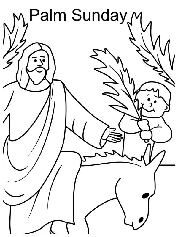coloring pages palm sunday palm sunday coloring page at getdrawings free download coloring pages palm sunday