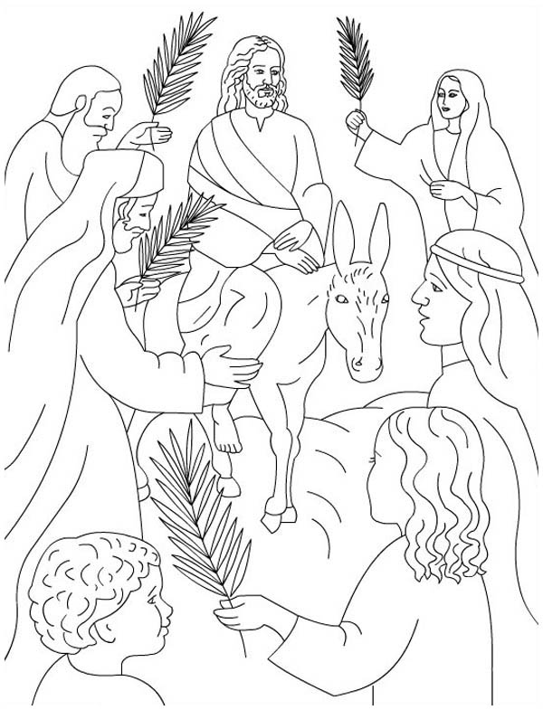 coloring pages palm sunday palm sunday coloring page for kids palm sunday coloring palm sunday pages coloring