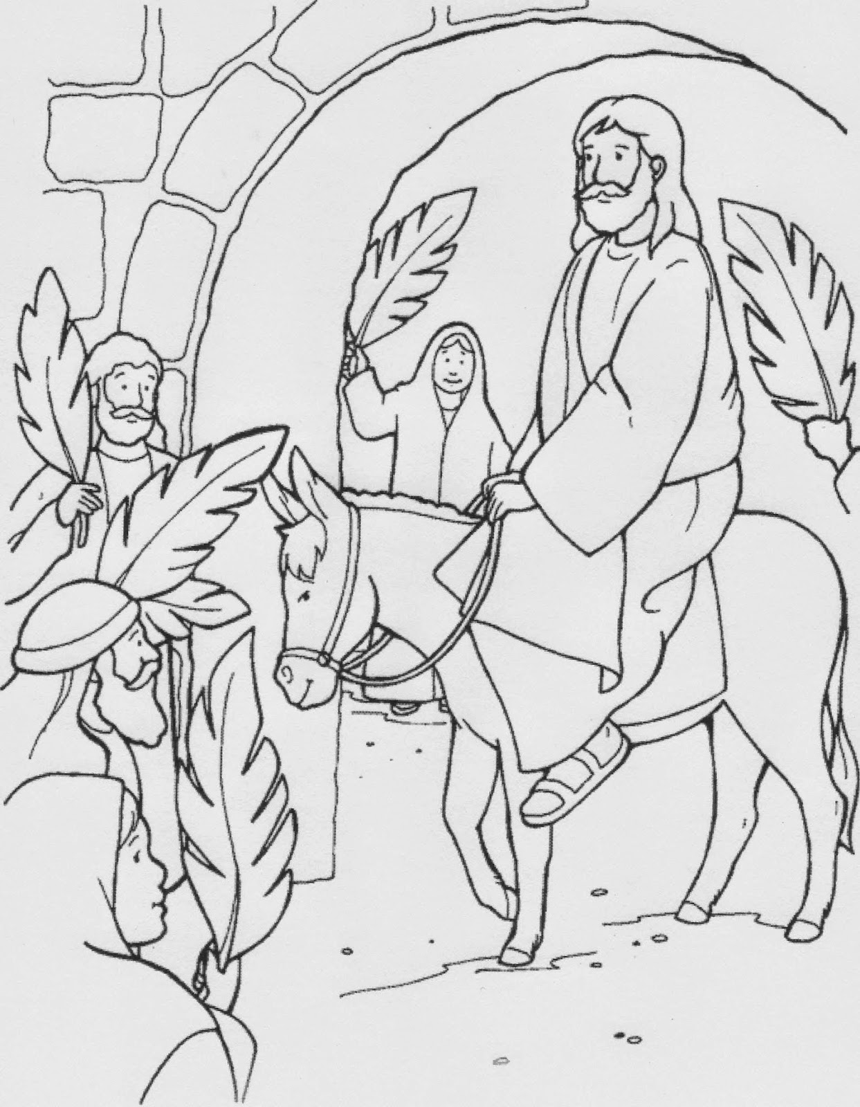 coloring pages palm sunday palm sunday coloring page sketch coloring page sunday coloring palm pages