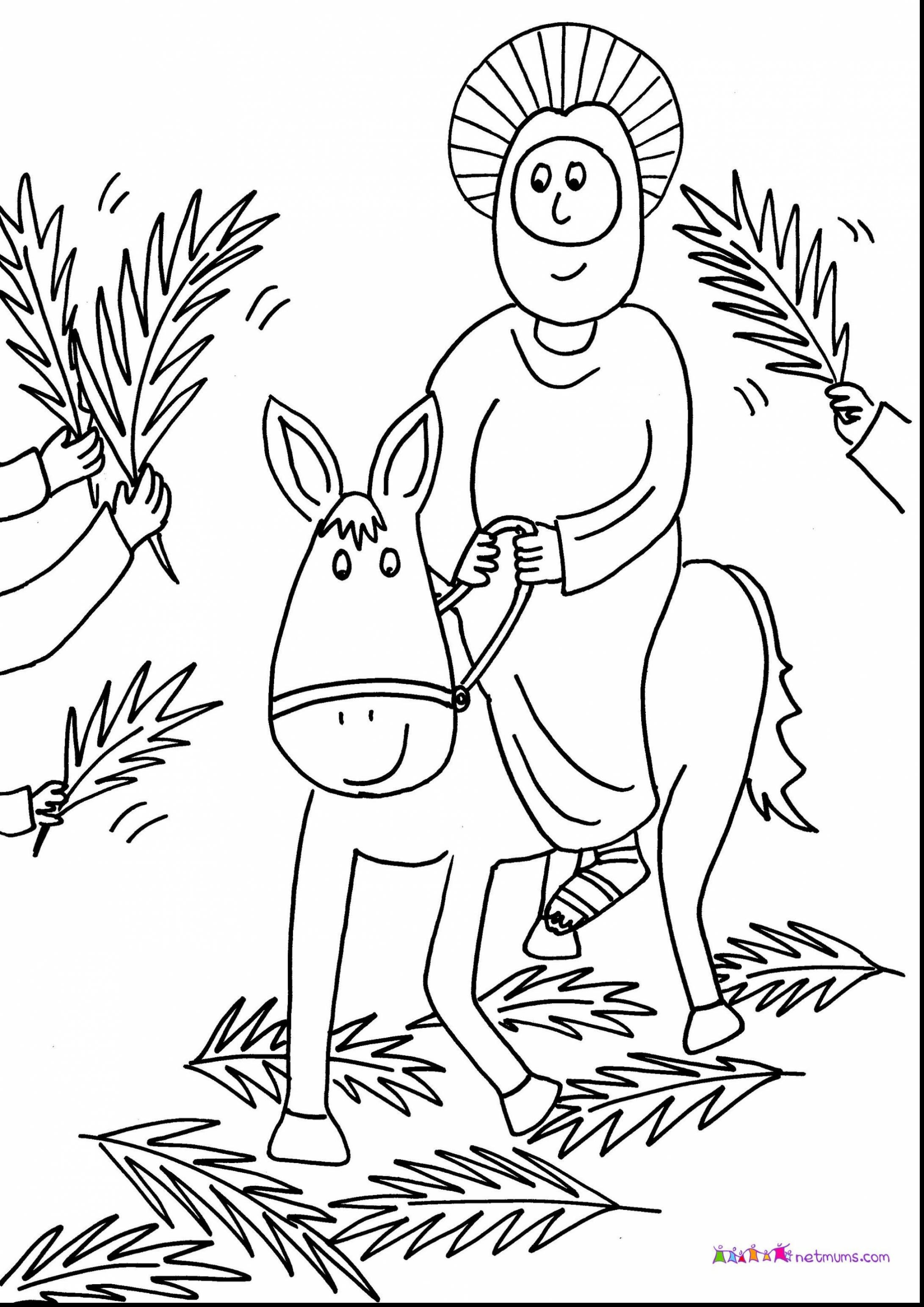 coloring pages palm sunday palm sunday coloring pages for preschoolers at coloring sunday palm pages