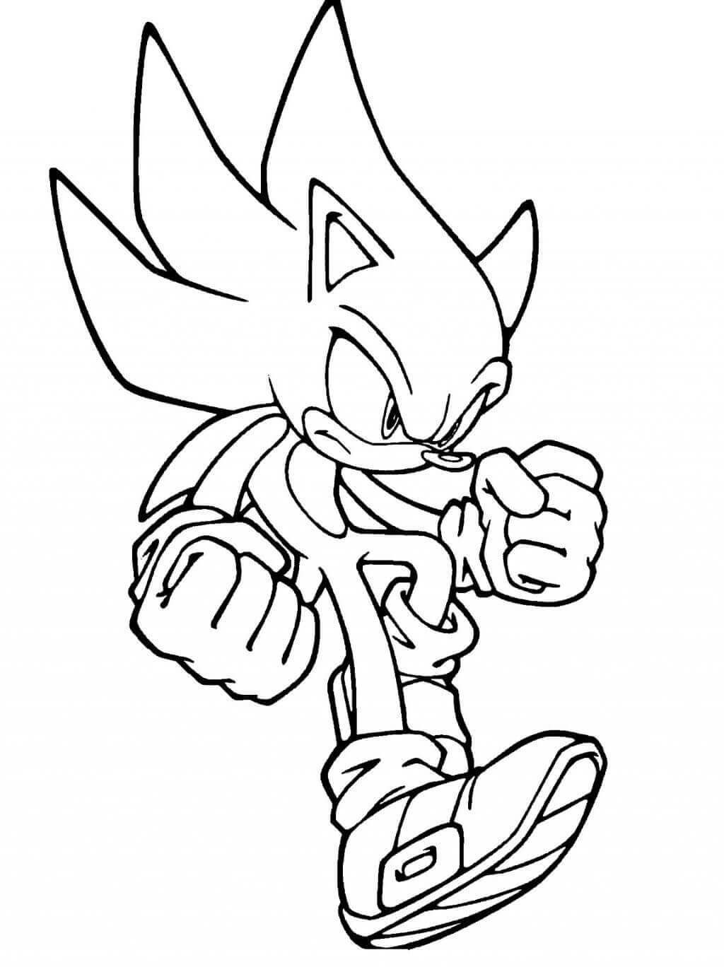 coloring pages sonic free printable sonic the hedgehog coloring pages for kids pages coloring sonic