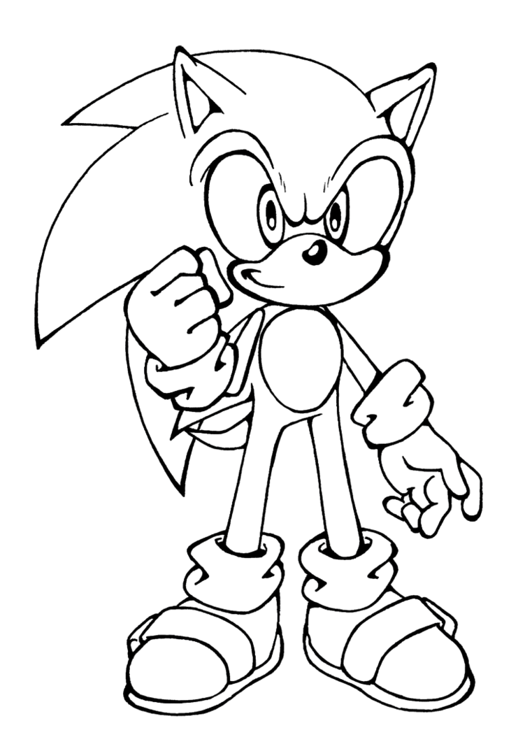 coloring pages sonic free printable sonic the hedgehog coloring pages for kids sonic coloring pages