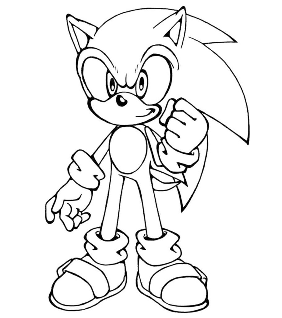 coloring pages sonic sonic the hedgehog coloring pages to download and print sonic coloring pages