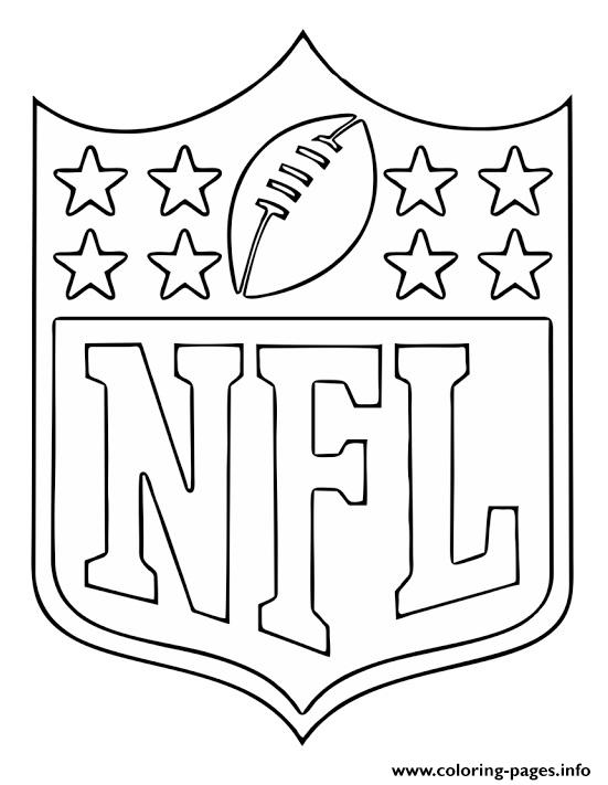 coloring pages sports logos nfl national football logo coloring pages printable coloring sports logos pages