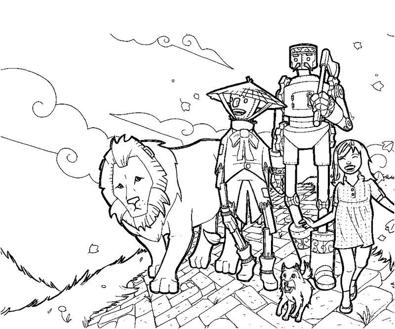coloring pages wizard of oz get this easy preschool printable of wizard of oz coloring of wizard pages oz coloring