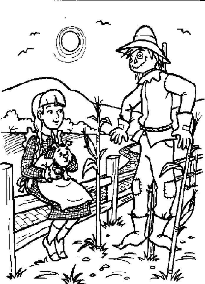coloring pages wizard of oz the wizard of oz coloring pages to download and print for free of oz pages wizard coloring