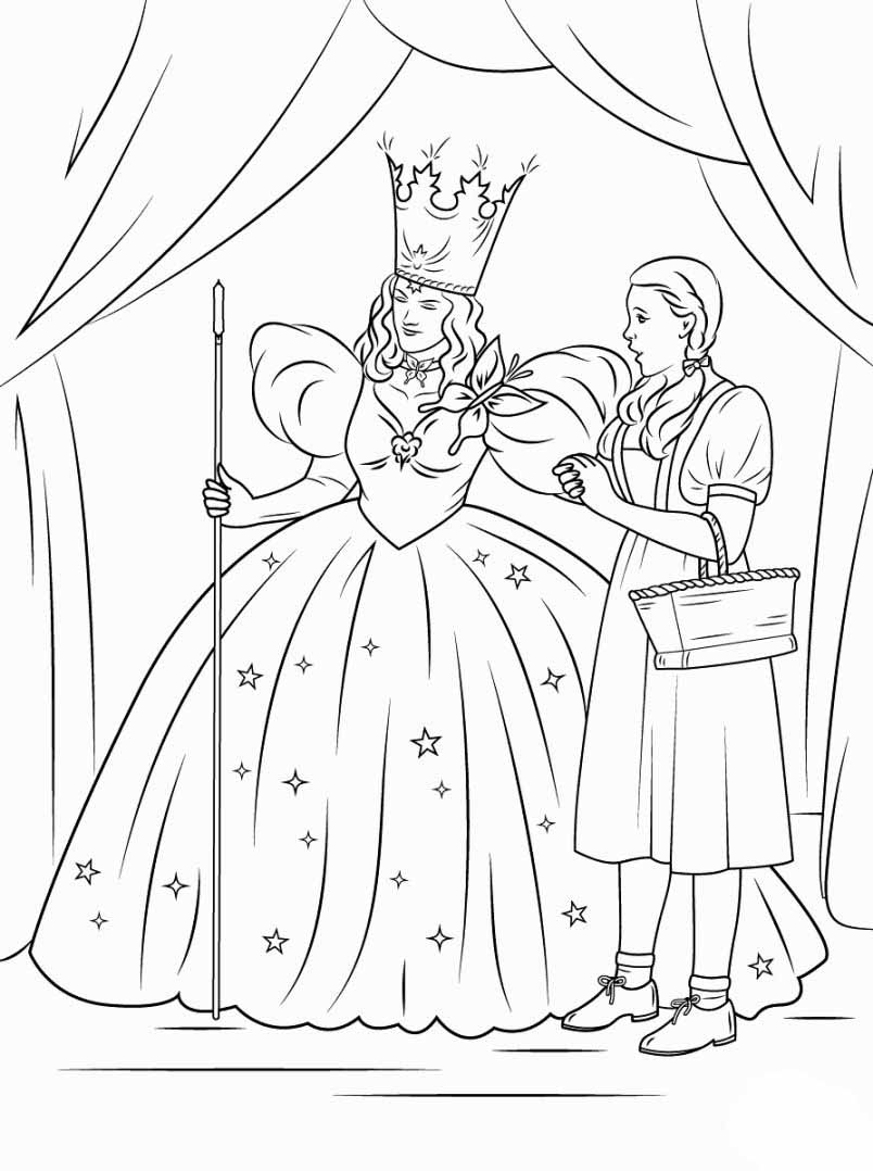 coloring pages wizard of oz wizard of oz coloring pages download and print wizard of oz wizard coloring of pages