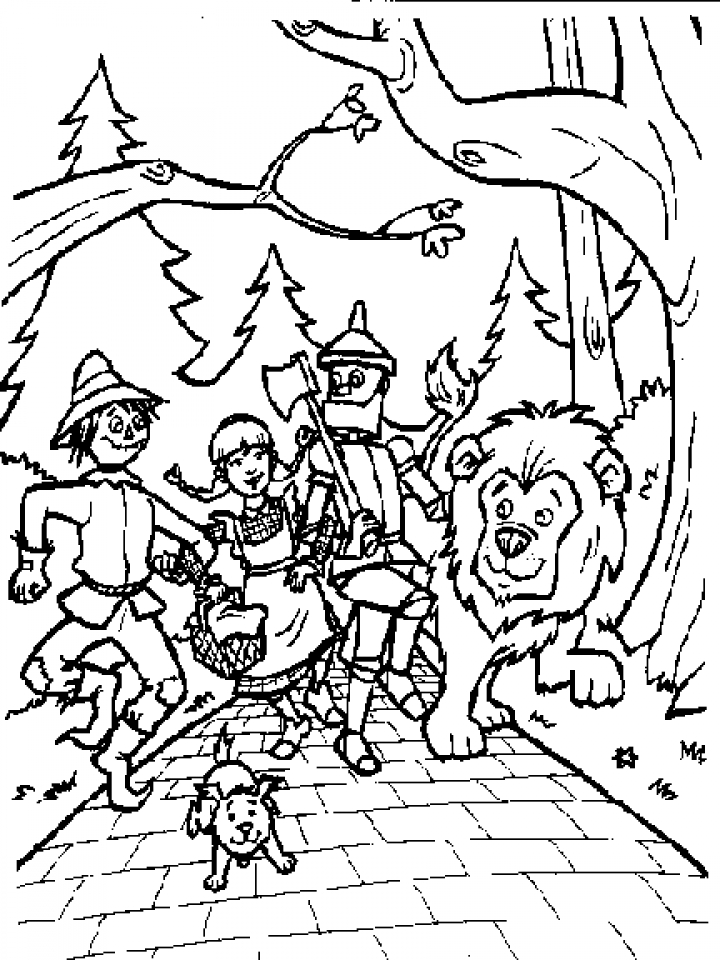 coloring pages wizard of oz wizard of oz coloring pages of oz wizard pages coloring