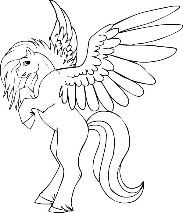 coloring pegasus pegasus coloring in page 4 by darkly shaded shadow on coloring pegasus