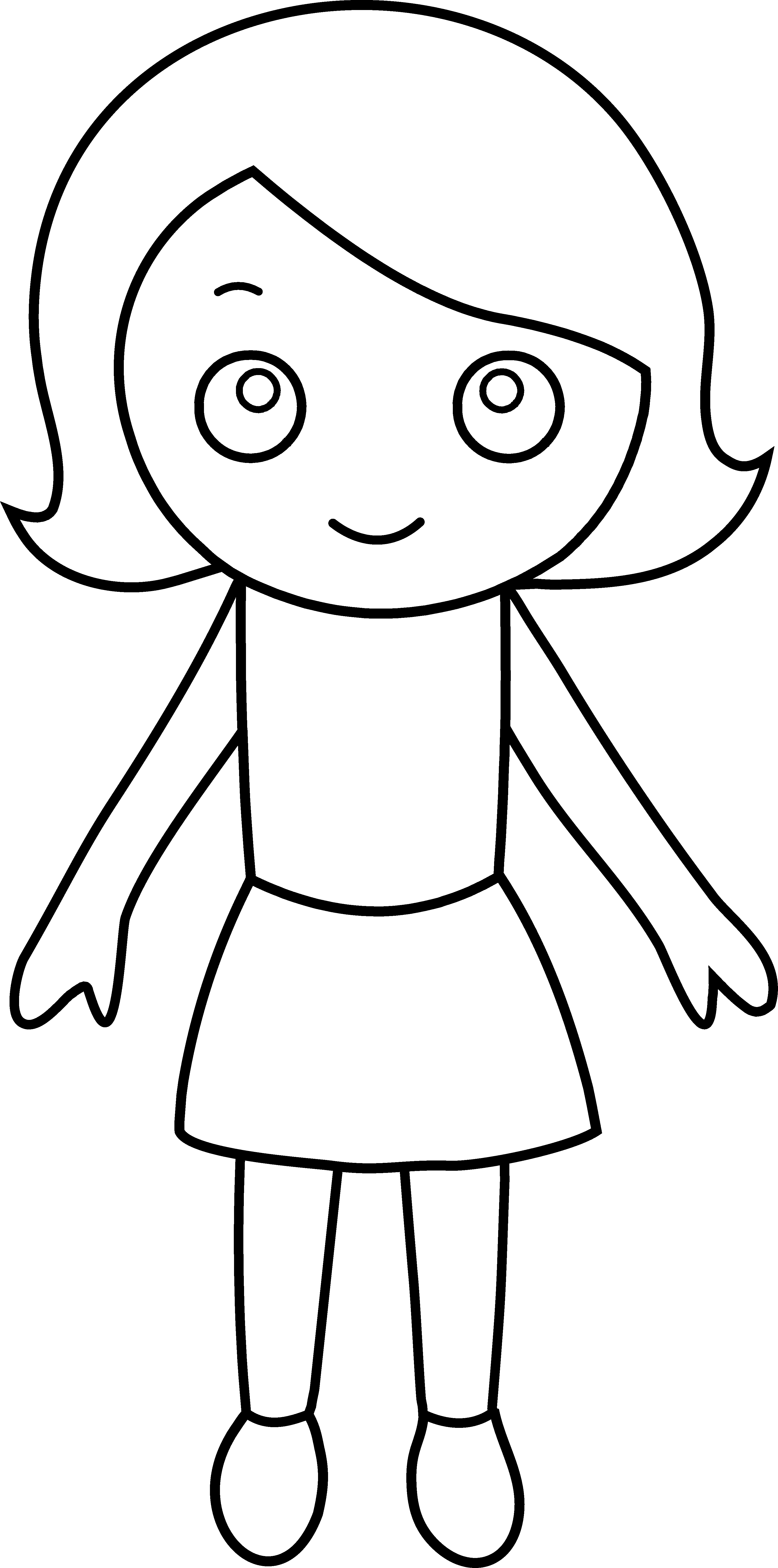 coloring picture of girl detailed coloring pages for girls at getcoloringscom of girl coloring picture
