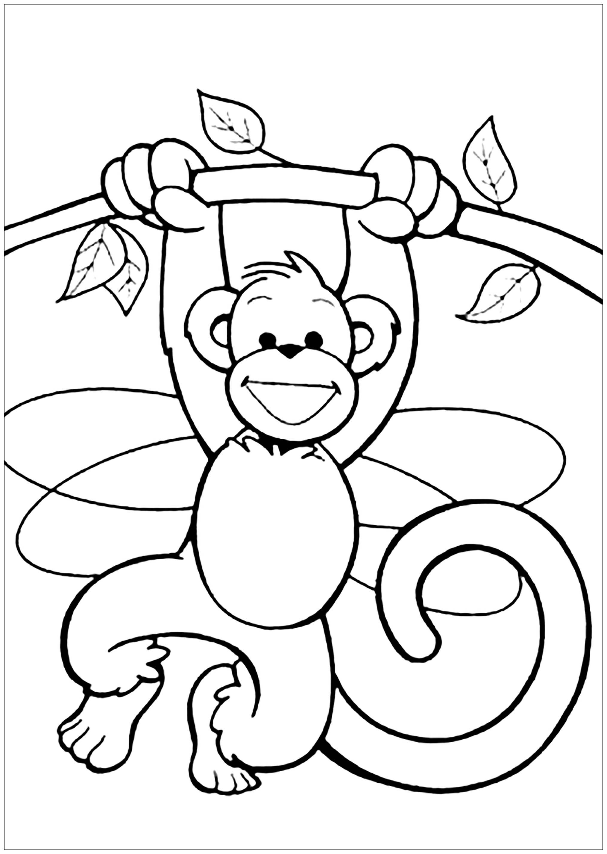 coloring picture of monkey monkeys to color for kids monkeys kids coloring pages monkey coloring picture of