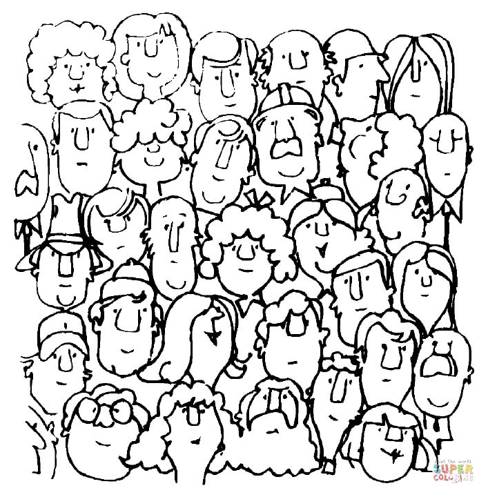 coloring picture people faces coloring page free printable coloring pages picture people coloring