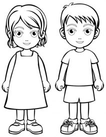 coloring picture people people coloring pages getcoloringpagescom picture people coloring