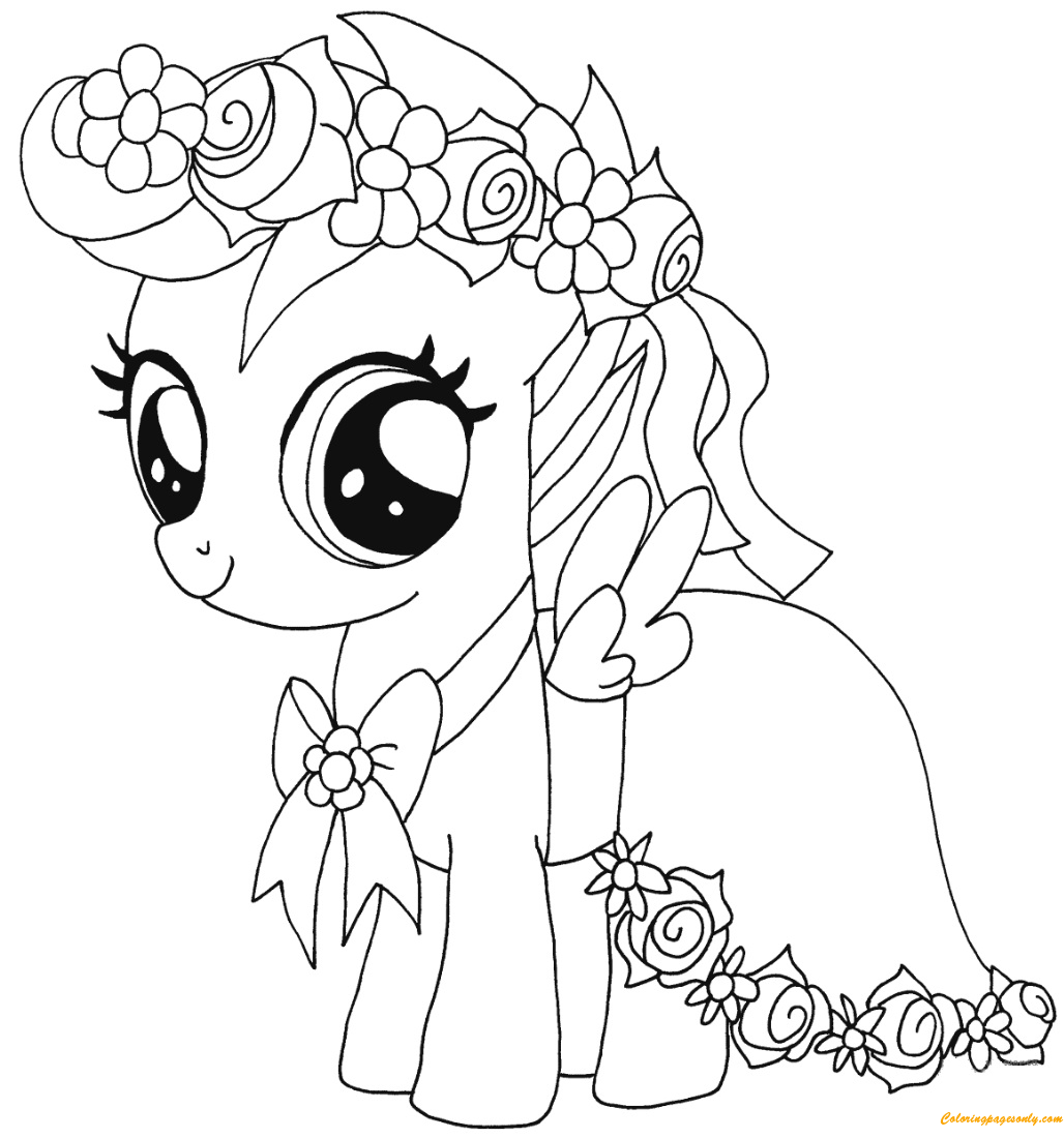 coloring pony my little pony coloring pages spike bubakidscom pony coloring